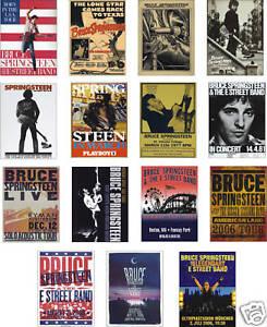 Bruce-Springsteen-Concert-Posters-Trading-Card-Set
