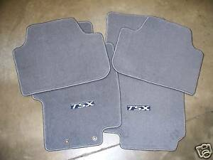 Genuine Oem 2006 2008 Acura Tsx Gray Carpet Floor Mat Set