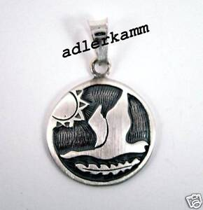 Star-Sign-Pendant-Snow-Goose-Capricorn-from-925-Silver