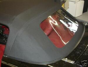 Mazda-Mx5-Na-Roadster-Convertible-REP-Kit-Pvc-Cubierta-CONTACTO-LUNA-TRASERA