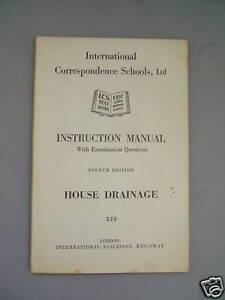 House-Drainage-I-C-S-Instruction-Manual-Illust