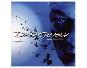 DAVE GILMOUR world tour 2006 tour programme 28 pages pink floyd