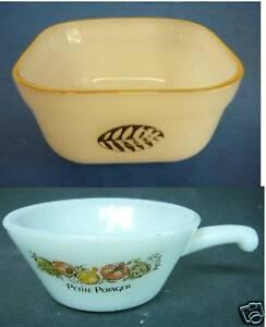 Vintage-FIRE-KING-SOUP-BOWL-RAMEKIN-PETITE-POTAGER-bowl