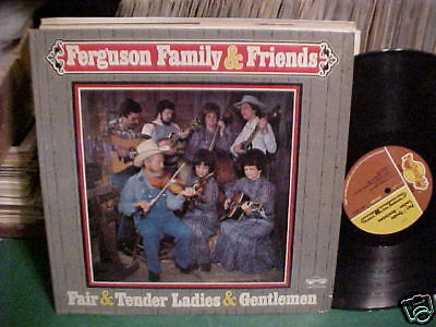 Xian Folk Bluegrass Lp Custom Ferguson Family   Friends All Star Musicians Look