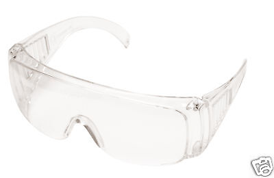 Portwest PW30 Visitor Safety Glasses Spectacles Over Specs Eye Protection