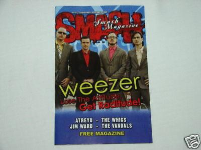 Smash Magazine Weezer Cover Issue #37 RARE Publication