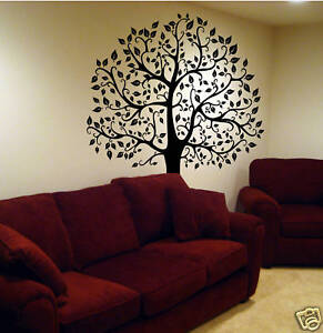 image is loading wall decal 6 ft big tree deco art - Stickers Muraux Design Decoration