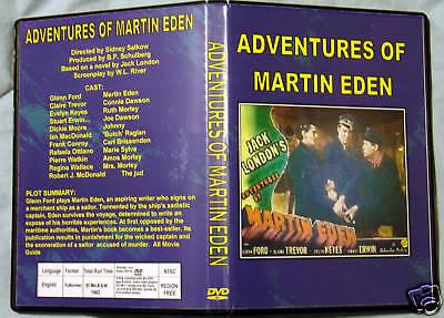 The Adventures Of Martin Eden - Dvd - Glenn Ford