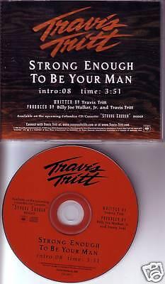 Travis Tritt Strong Enough To Be Promo Dj Cd Single 02