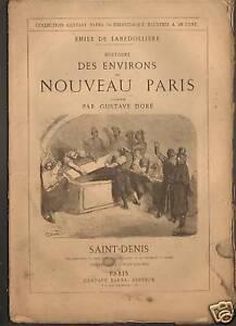 SAINT-DENIS-HISTOIRE-amp-CARTE-GEO-par-Gustave-Dore-1860