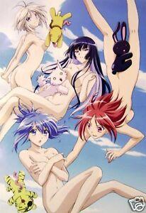 Kaempfer My Hime Poster Promo Anime Bikini Maedchen