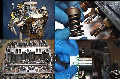 Dvd Complete How To Rebuild A Sbc Small Block Chevy Engine Motor Video 350 305