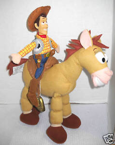 Details about Toy Story Woody & Bullseye Doll set Poseable Bullseye