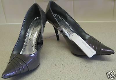 Debenhams Purple Shimmering Heels (new)-size 8