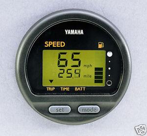 NEW YAMAHA DIGITAL MULTIFUNTION SPEEDOMETER - 6y5-83570-s6-00