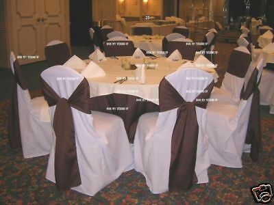 100 Brand Polyester Banquet Chair Covers Wedding