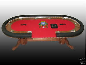 Image Is Loading World Class Custom Texas Holdem Poker Table QUALITY
