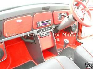 Classic Mini INTERIOR Matching Dashboard & Centre Console package Colour choice