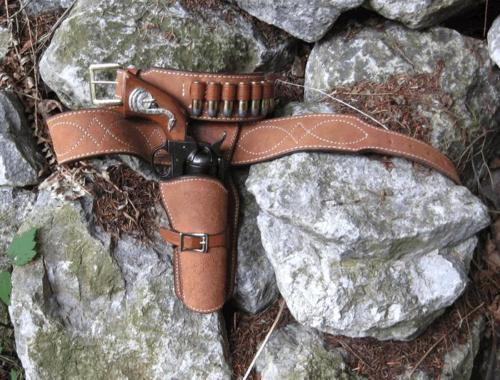 Spaghetti Western The Good Bad And Ugly Clint Eastwood Gun Belt Holster Rig
