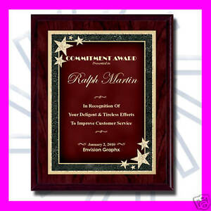 7x9-CUSTOM-ENGRAVED-RED-RECOGNITION-AWARD-PLAQUE-SB