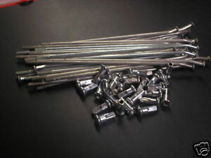 Honda-REAR-19-inch-CR-CRF-125-250-450-500-Spokes-Spoke-Nipples-SET-NEW