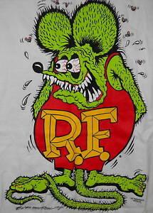 Rat-Fink-Ed-Roth-white-t-shirt-sizes-M-L-XL-XXL-XXXL