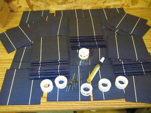 1-KW-DIY-solar-cells-panel-kit-6x6-cells-with-wire-kit-each-cell-4w