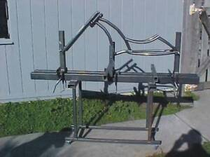 Bicycle-frame-jig-PLANS-Build-custom-chopper-bike-or