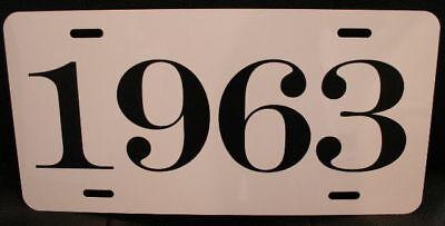 1963 License Plate Fits Catalina Cadillac Oldsmobile Mercury Polara Max Wedge