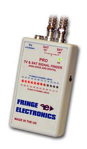 Fringe ProTV Digital Aerial Signal Meter and Satellite Signal Finder