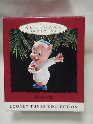 1993 Hallmark Keepsake Ornament Porky Pig Looney Tunes