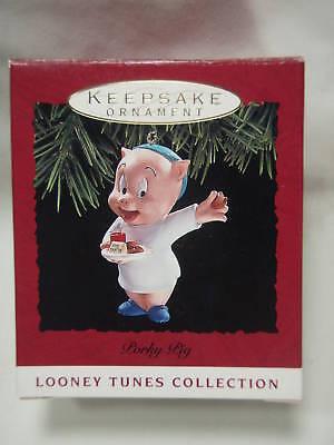 1993 Hallmark Keepsake Ornament Porky Pig Looney Tunes