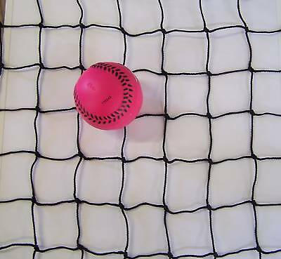 50' X 10' X 10' Baseball Net Black Square Complete Batting Cage Netting 2 18