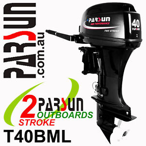 40HP-PARSUN-Outboard-2-stroke-Long-Shaft-BRAND-NEW-2yr-FULL-FACTORY-Warranty
