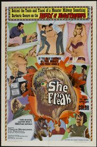 She-Freak-Claire-Brennen-Horror-movie-poster-print