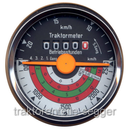 Traktormeter für Deutz  D25.1S  D25 D25S  Traktor Schlepper  238 Foto 1