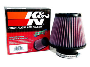 K&N Universal 3'' Air Intake Cone Filter 76mm RU-3580 Car/Truck/SUV NEW