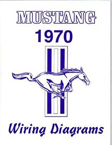 1970 mustang mach 1 wiring diagram manual ebay. Black Bedroom Furniture Sets. Home Design Ideas