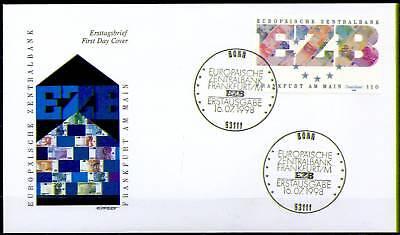 BRD 1998: EZB-Gründung! FDC der Nr. 2000 mit dem Bonner Ersttags-Sonderstempel!