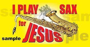 Sticker-Saxophone-Jesus-Christ-Christian-GOD