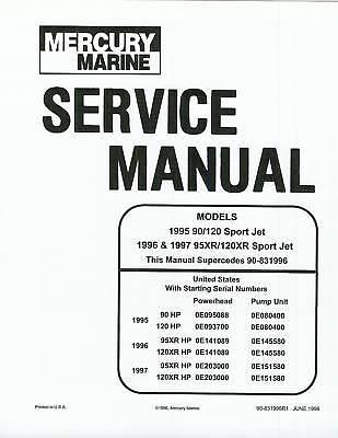 Sport Jet 95xr 120xr Manual Jazz Bayliner Sportjet Mercury Email Deliver