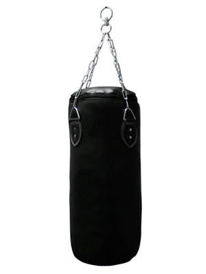 Med Boxing Heavy Punching Bag 28x18 Empty Training Box Fitness Exercise Tool