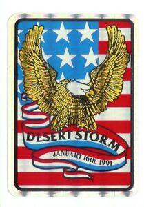 Desert-Storm-U-S-Military-Vintage-Sticker-Decal-Rare-1