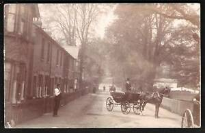 Ware-posted-Street-View-with-Horse-Cart-by-Robinson
