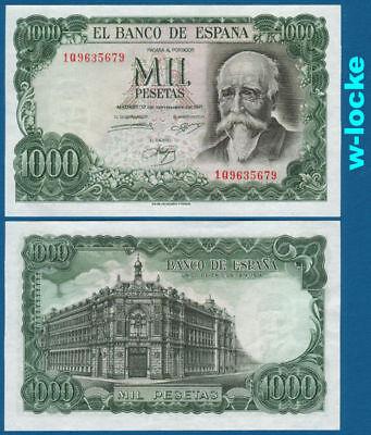 SPANIEN / SPAIN 1000 Pesetas 1971 UNC  P.154