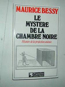 livre le mystere de la chambre noire maurice bessy photo