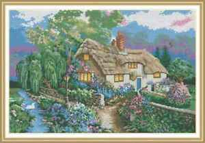 Counted-Cross-Stitch-Kit-Cottage