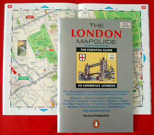 NEW-Penguin-LONDON-MAPGUIDE-BOOKLET-TheOneToCarry-4-oz-FromHampstead-toGreenwich