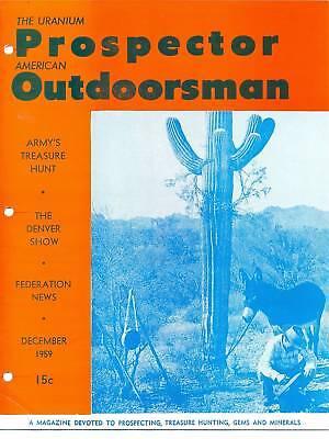 The Uranium Prospector   American Outdoorsman  Dec 1959