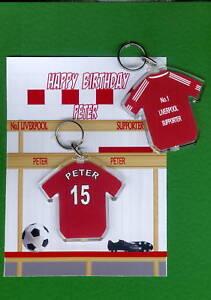 LIVERPOOL-Football-Shirt-Keyring-Card-PERSONALISED